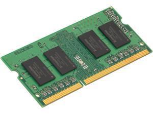 Kingston ValueRAM - DDR3L - 8 GB: 2 x 4 GB - SO-DIMM 204-pin - 1600 MHz / PC3L-12800 - CL11 - 1.35 / 1.5 V - unbuffered - non-ECC