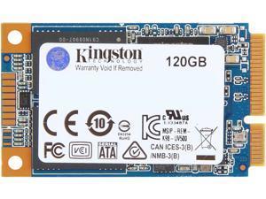 Kingston UV500 mSATA 120GB SATA III 3D TLC Internal Solid State Drive (SSD) SUV500MS/120G