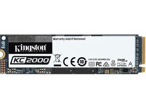 Kingston KC2000 M.2 2280 1TB NVMe PCIe Gen 3.0 x4 96-layer 3D TLC Internal Solid State Drive (SSD) SKC2000M8/1000G