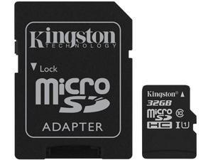 Kingston Canvas Select Plus 32GB microSDHC Flash Card w/ Adapter Model SDCS2/32GBCR