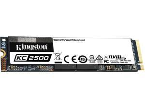 Kingston KC2500 M.2 2280 500GB NVMe PCIe Gen 3.0 x4 96-layer 3D TLC Internal Solid State Drive (SSD) SKC2500M8/500G