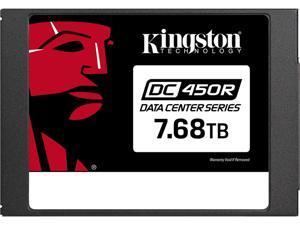"""Kingston 2.5"""" 7.68TB SATA III 3D TLC Internal Solid State Drive (SSD) SEDC450R/7680G"""