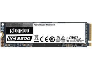 Kingston KC2500 M.2 2280 2TB NVMe PCIe Gen 3.0 x4 96-layer 3D TLC Internal Solid State Drive (SSD) SKC2500M8/2000G