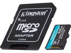 Kingston Canvas Go! Plus 512GB microSDXC Flash Card w/ Adapter Model SDCG3/512GBCR
