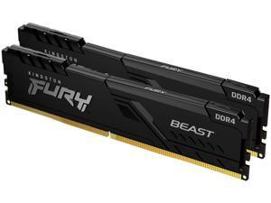 Kingston FURY Beast 32GB (2 x 16GB) 288-Pin DDR4 SDRAM DDR4 3200 (PC4 25600) Intel XMP 2.0 Desktop Memory Model KF432C16BB1K2/32