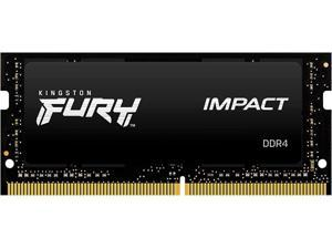 Kingston FURY Impact 16GB 260-Pin DDR4 SO-DIMM DDR4 3200 (PC4 25600) Laptop Memory Model KF432S20IB1/16