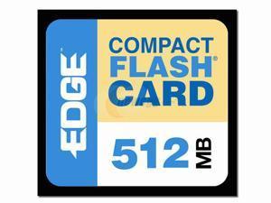 EDGE Tech EDGE Premium 512MB Compact Flash (CF) Flash Media Model PE179502