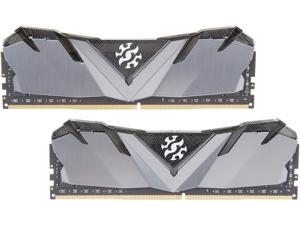 XPG GAMMIX D30 16GB (2 x 8GB) 288-Pin DDR4 SDRAM DDR4 3000 (PC4 24000) Intel XMP 2.0 Desktop Memory Model AX4U300038G16A-DB30