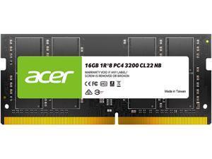 Acer SD100 16GB 260-Pin DDR4 SO-DIMM DDR4 3200 (PC4 25600) Laptop Memory Model BL.9BWWA.214