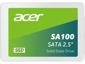 "Acer SA100 2.5"" 480GB SATA Internal Solid State Drive (SSD) BL.9BWWA.103"