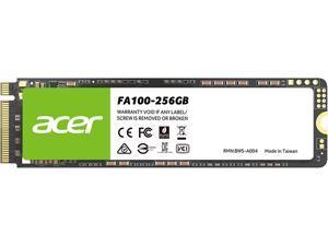 Acer FA100 M.2 256GB PCI-Express 3.0 x4 Internal Solid State Drive (SSD) BL.9BWWA.118