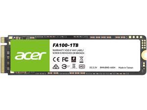 Acer FA100 M.2 1TB PCI-Express 3.0 x4 Internal Solid State Drive (SSD) BL.9BWWA.120
