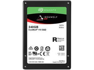 "Seagate IronWolf 110 2.5"" 240GB SATA III 3D TLC Internal Solid State Drive (SSD) ZA240NM10011"