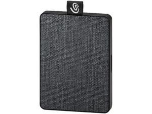 Seagate One Touch SSD 1TB USB 3.0 External / Portable Solid State Drive for PC Laptop and Mac - Black (STJE1000400)