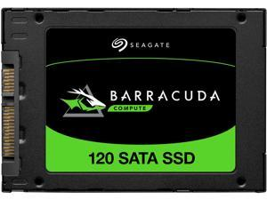 Seagate Barracuda 120 SSD 500GB Internal Solid State Drive - 2.5 Inch SATA 6GB/s for Computer Desktop PC Laptop (ZA500CM1A003)