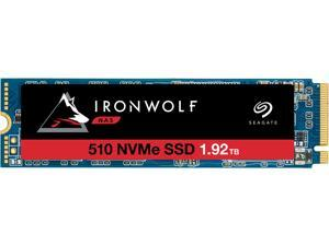 Seagate IronWolf 510 1.92TB NAS SSD Internal Solid State Drive - M.2 PCIe for Multibay RAID System Network Attached Storage, 2 Year Data Recovery (ZP1920NM30011)