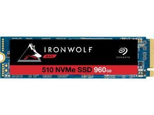 Seagate IronWolf 510 960GB NAS SSD Internal Solid State Drive - M.2 PCIe for Multibay RAID System Network Attached Storage, 2 Year Data Recovery (ZP960NM30011)