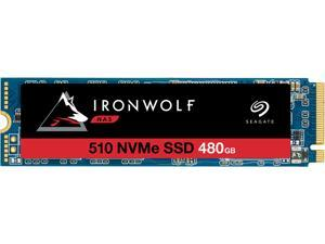 Seagate IronWolf 510 480GB NAS SSD Internal Solid State Drive - M.2 PCIe for Multibay RAID System Network Attached Storage, 2 Year Data Recovery (ZP480NM30011)