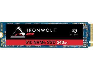 Seagate IronWolf 510 M.2 2280 240GB PCIe G3 x4, NVMe 1.3 3D TLC Internal Solid State Drive (SSD) ZP240NM30011
