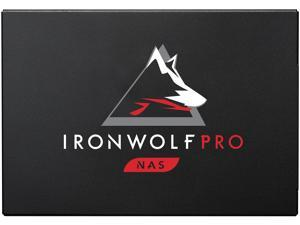 Seagate IronWolf Pro 125 SSD 3.84TB NAS Internal Solid State Drive - 2.5 Inch SATA 6Gb/s Speeds up to 545 MB/s, 1 DWPD Endurance and 24x7 Performance for Creative Pro, and SMB (ZA3840NX1A001)