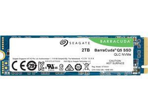 Seagate BarraCuda Q5 M.2 2280 2TB PCIe Gen3 x4 NVMe 1.3 3D QLC Internal Solid State Drive (SSD) ZP2000CV3A001