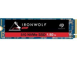 Seagate IronWolf 510 M.2 2280-D2 1.92TB PCIe G3 x4, NVMe 1.3 3D TLC Internal Solid State Drive (SSD) ZP1920NM30011