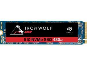 Seagate IronWolf 510 M.2 2280 480GB PCIe G3 x4, NVMe 1.3 3D TLC Internal Solid State Drive (SSD) ZP480NM30011