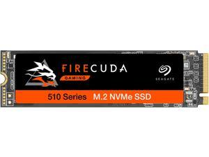Seagate FireCuda 510 M.2 2280 500GB PCIe Gen3 x4, NVMe 1.3 3D TLC Internal Solid State Drive (SSD) ZP500GM3A021