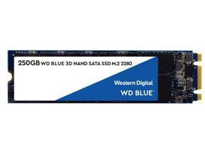 WD Blue 3D NAND 250GB Internal SSD - SATA III 6Gb/s M.2 2280 Solid State Drive - WDS250G2B0B