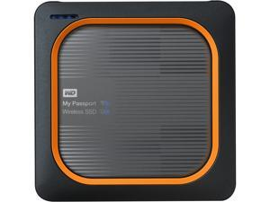 WD 2TB My Passport Wireless SSD External Portable Drive - One-touch SD Card Backup, AC Wi-Fi, USB 3.0, Mobile Access & 4K Streaming