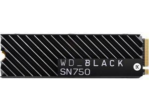 Western Digital WD BLACK SN750 NVMe M.2 2280 2TB PCI-Express 3.0 x4 64-layer 3D NAND Internal Solid State Drive (SSD) WDS200T3XHC W/ Heatsink