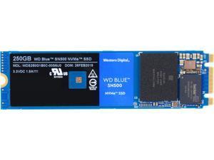 Western Digital WD Blue SN500 NVMe M.2 2280 250GB PCI-Express 3.0 x2 3D NAND Internal Solid State Drive (SSD) WDS250G1B0C