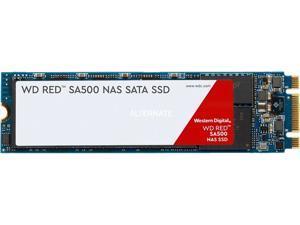 Western Digital WD Red SA500 M.2 2280 1TB SATA III 3D NAND Internal Solid State Drive (SSD) WDS100T1R0B