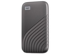 WD 500GB My Passport SSD External Portable Drive, Gray, Up to 1,050 MB/s - WDBAGF5000AGY-WESN