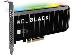 Western Digital WD BLACK AN1500 NVMe AIC 4TB PCI-Express 3.0 x8 Internal Solid State Drive (SSD) WDS400T1X0L