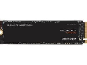 Western Digital WD BLACK SN850 NVMe M.2 2280 1TB PCI-Express 4.0 x4 3D NAND Internal Solid State Drive (SSD) WDS100T1X0E