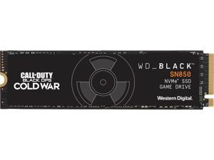 WD BLACK SN850 1TB NVMe Solid State Drive, Call of Duty: Black Ops Cold War Special Edition, M.2 2280, PCI-Express 4.0 x4 3D NAND Internal Solid State Drive (SSD), WDBB2F0010BNC-WRSN