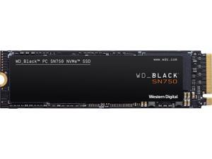 Western Digital BLACK SN750 NVMe M.2 2280 4TB PCI-Express 3.0 x4 64-layer 3D NAND Internal Solid State Drive (SSD) WDS400T3X0C