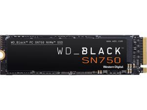Western Digital BLACK SN750 NVMe M.2 2280 4TB PCI-Express 3.0 x4 64-layer 3D NAND Internal Solid State Drive (SSD) WDS400T3X0C