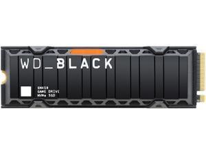 Western Digital WD BLACK SN850 NVMe M.2 2280 2TB PCI-Express 4.0 x4 3D NAND Internal Solid State Drive (SSD) WDS200T1XHE w/ Heatsink
