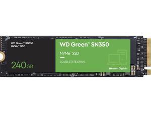 Western Digital Green SN350 NVMe M.2 2280 240GB PCI-Express 3.0 x4 Internal Solid State Drive (SSD) WDS240G2G0C