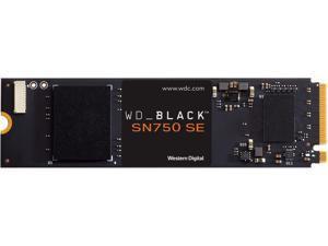 Western Digital WD Black SN750 SE NVMe M.2 2280 500GB PCI-Express 4.0 Internal Solid State Drive (SSD) WDS500G1B0E