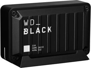 Western Digital WD_BLACK D30 500GB USB 3.2 Gen 2 (Type-C) Game Drive SSD WDBATL5000ABK-WESN