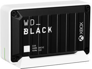 Western Digital WD_BLACK D30 500GB USB 3.2 Gen 2 (Type-C) Game Drive SSD for Xbox WDBAMF5000ABW-WESN