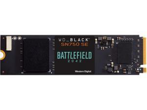 WD BLACK SN750 SE NVMe M.2 2280 1TB PCI-Express 4.0 Internal Solid State Drive (SSD) Battlefield 2042 Game Code Bundle WDBB9J0010BNC-NRSN