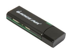 IOGEAR GFR304SD USB 3.0 SuperSpeed SD/ SDHC/ MMC/ SDXC/ MicroSD/ MicroSDXC/ Extreme SD Cards Reader / Writer