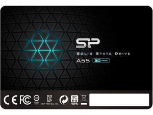 "Silicon Power Ace A55 2.5"" 512GB SATA III 3D NAND Internal Solid State Drive (SSD) SU512GBSS3A55S25NE"