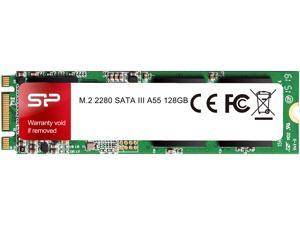 Silicon Power Ace A55 M.2 2280 128GB SATA III 3D NAND Internal Solid State Drive (SSD) SP128GBSS3A55M28