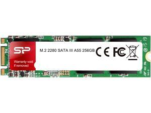 Silicon Power Ace A55 M.2 2280 256GB SATA III 3D NAND Internal Solid State Drive (SSD) SP256GBSS3A55M28