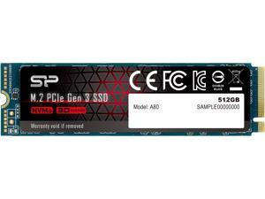 Silicon Power 512GB NVMe M.2 2280 PCIe Gen3 x4 TLC R/W up to 3,400/2,300 MB/s SSD (SP512GBP34A80M28)